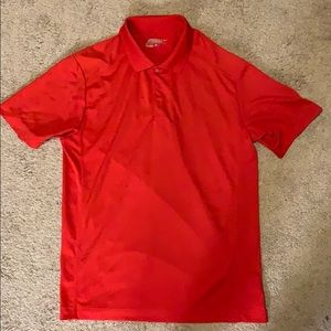 Red Nike Golf Polo (M)